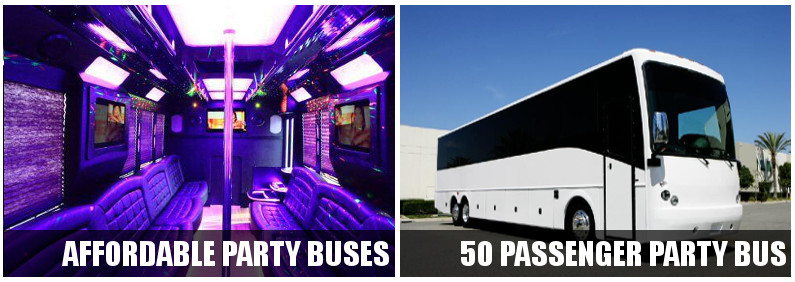 bachelor party buses sc