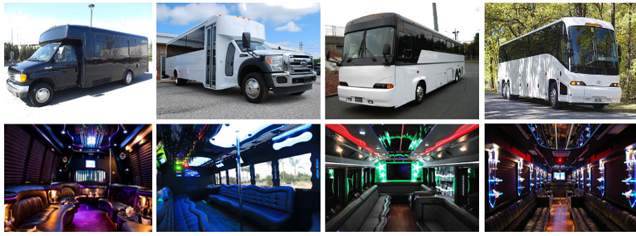 party bus rentals south carolina