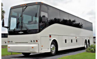 50 Passenger Charter Bus Anderson