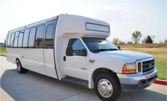 20 Passenger Shuttle Bus Rental Spartanburg