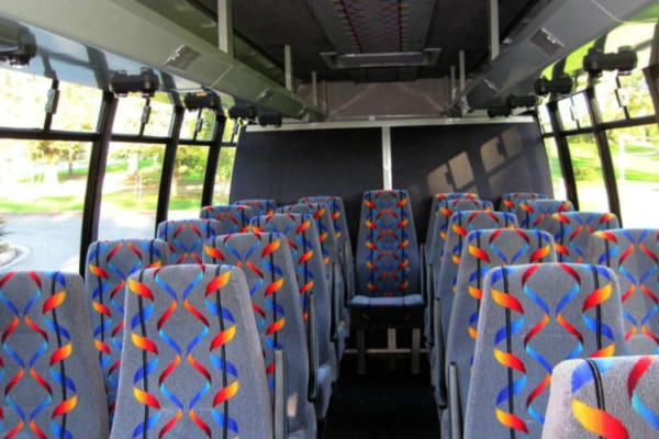 20 Person Mini Bus Rental Mount Pleasant