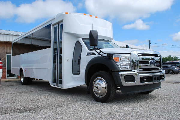 30 Passenger Bus Rental Clemson