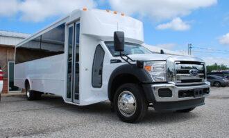 30 Passenger Bus Rental Mount Pleasant