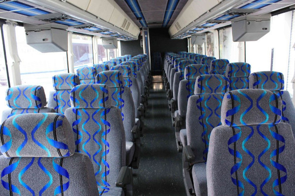 30 Person Shuttle Bus Rental Simpsonville