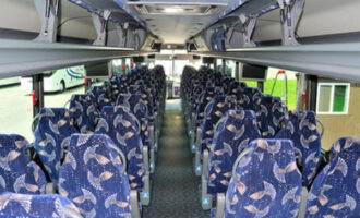 40 Person Charter Bus Mount Pleasant