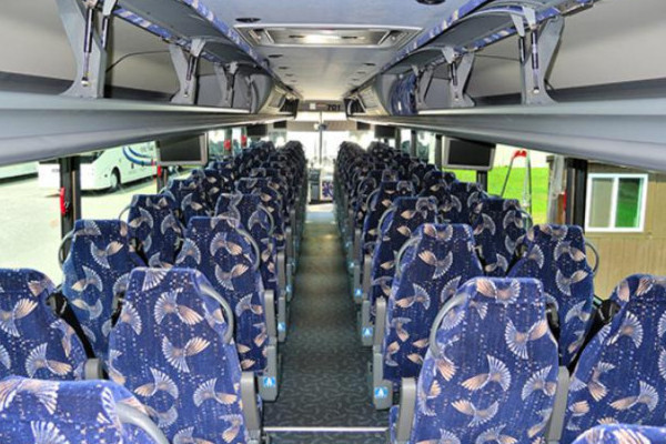40 Person Charter Bus Spartanburg