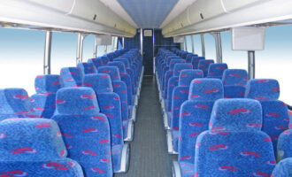 50 Person Charter Bus Rental Greenwood