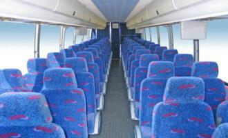 50 Person Charter Bus Rental Mount Pleasant