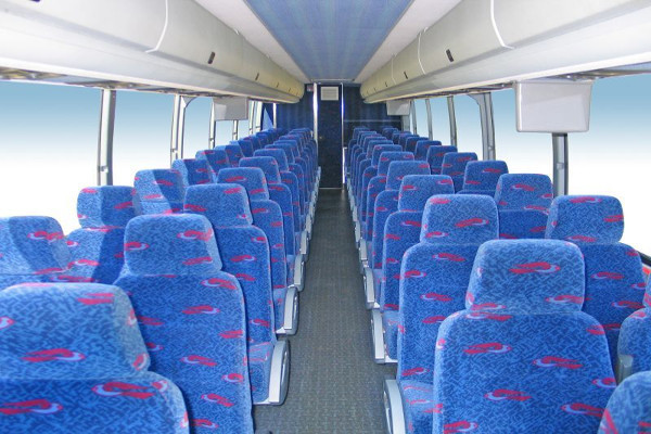 50 Person Charter Bus Rental Mount Pleasant